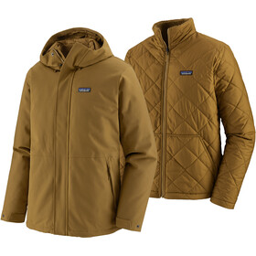 Patagonia Lone Mountain Veste 3 En 1 Homme, mulch brown
